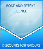 Boat and Jetski licence