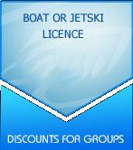Boat or Jetski Licence